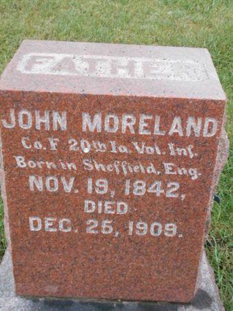 MORELAND, JOHN - Linn County, Iowa | JOHN MORELAND