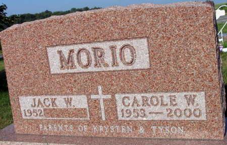 MORIO, CAROLE W. - Linn County, Iowa | CAROLE W. MORIO