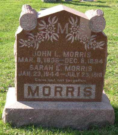 MORRIS, JOHN L. - Linn County, Iowa   JOHN L. MORRIS