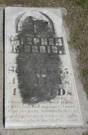 MORRIS, STEPHEN - Linn County, Iowa | STEPHEN MORRIS