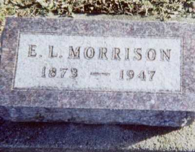 MORRISON, E. L. - Linn County, Iowa | E. L. MORRISON