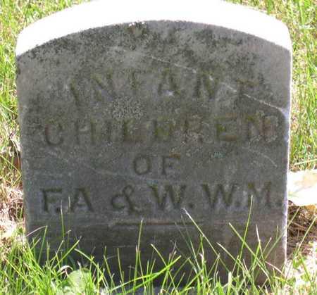 MORRISON, INFANT CHILDREN - Linn County, Iowa | INFANT CHILDREN MORRISON