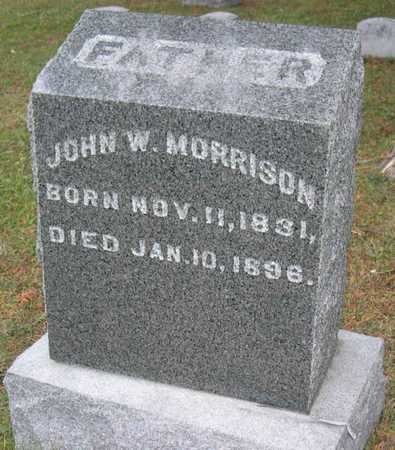 MORRISON, JOHN W. - Linn County, Iowa | JOHN W. MORRISON
