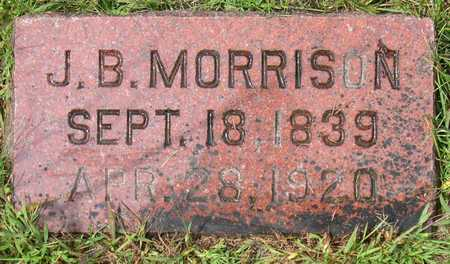 MORRISON, J.B. - Linn County, Iowa | J.B. MORRISON