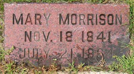 MORRISON, MARY - Linn County, Iowa   MARY MORRISON