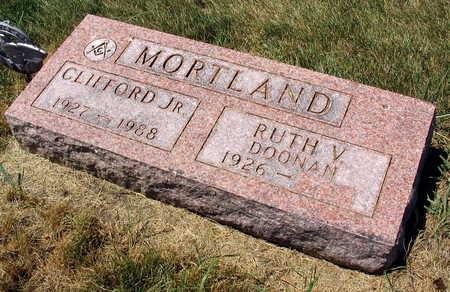 MORTLAND, CLIFFORD, JR. - Linn County, Iowa   CLIFFORD, JR. MORTLAND