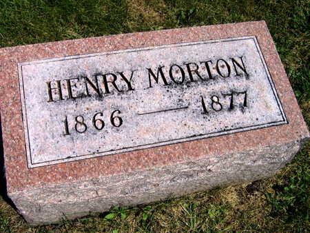 MORTON, HENRY - Linn County, Iowa   HENRY MORTON