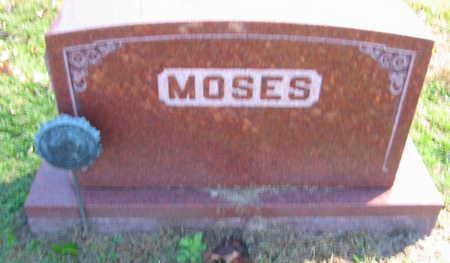 MOSES, FAMILY STONE - Linn County, Iowa   FAMILY STONE MOSES