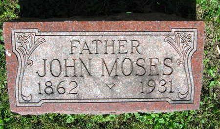 MOSES, JOHN - Linn County, Iowa   JOHN MOSES