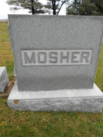MOSHER, FAMILY STONE - Linn County, Iowa | FAMILY STONE MOSHER