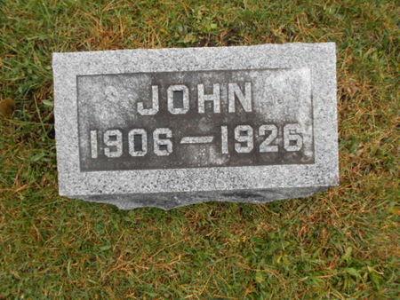 MOSHER, JOHN - Linn County, Iowa | JOHN MOSHER