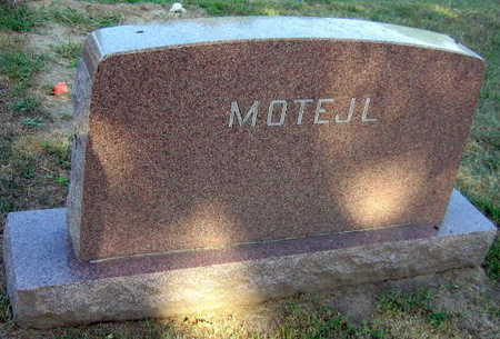 MOTEJL, FAMILY STONE - Linn County, Iowa | FAMILY STONE MOTEJL