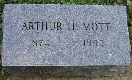 MOTT, ARTHUR H. - Linn County, Iowa   ARTHUR H. MOTT