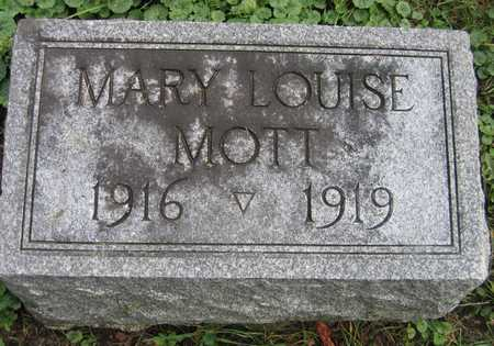 MOTT, MARY LOUISE - Linn County, Iowa | MARY LOUISE MOTT