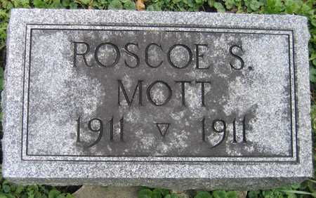 MOTT, ROSCOE S. - Linn County, Iowa   ROSCOE S. MOTT