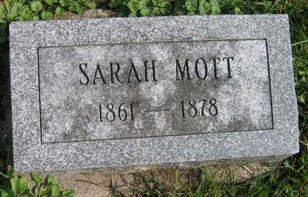 MOTT, SARAH - Linn County, Iowa   SARAH MOTT