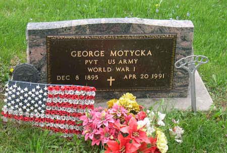 MOTYCKA, GEORGE - Linn County, Iowa   GEORGE MOTYCKA