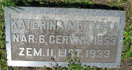 MOTYCKA, KATERINA - Linn County, Iowa   KATERINA MOTYCKA