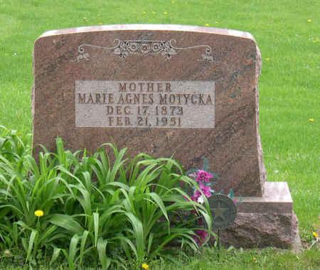 MOTYCKA, MARIE AGNES - Linn County, Iowa | MARIE AGNES MOTYCKA