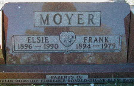MOSS MOYER, ELSIE MABEL - Linn County, Iowa | ELSIE MABEL MOSS MOYER