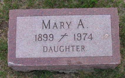 MOYNIHAN, MARY A. - Linn County, Iowa   MARY A. MOYNIHAN