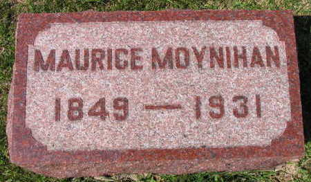 MOYNIHAN, MAURICE - Linn County, Iowa   MAURICE MOYNIHAN