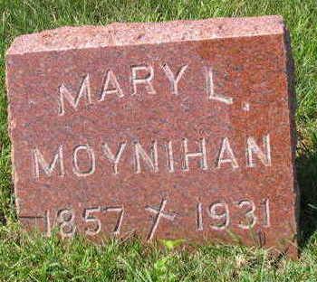 MOYNIHAN, MARY L. - Linn County, Iowa | MARY L. MOYNIHAN