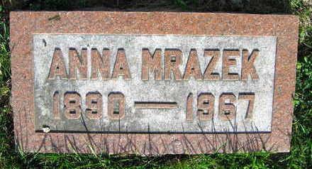 MRAZEK, ANNA - Linn County, Iowa | ANNA MRAZEK