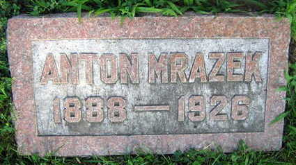 MRAZEK, ANTON - Linn County, Iowa | ANTON MRAZEK