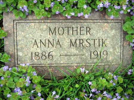 MRSTIK, ANNA - Linn County, Iowa | ANNA MRSTIK