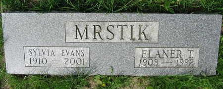 EVANS MRSTIK, SYLVIA - Linn County, Iowa | SYLVIA EVANS MRSTIK