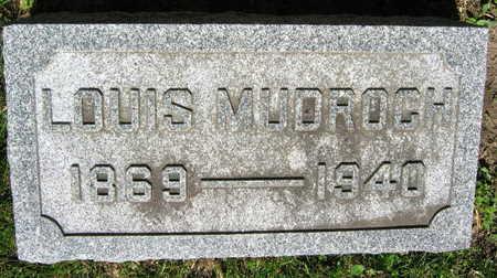 MUDROCH, LOUIS - Linn County, Iowa | LOUIS MUDROCH