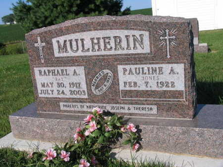 MULHERIN, RAPHAEL A.