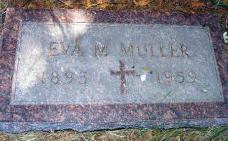 MULLER, EVA M. - Linn County, Iowa | EVA M. MULLER