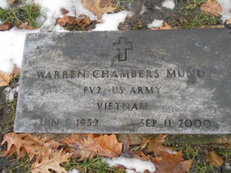 MUNDY, WARREN CHAMBERS - Linn County, Iowa | WARREN CHAMBERS MUNDY