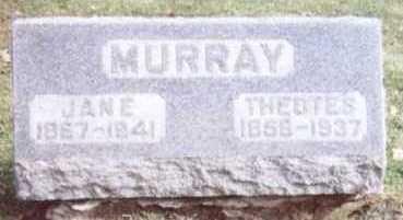 MURRAY, JANE - Linn County, Iowa   JANE MURRAY