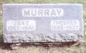 MURRAY, THEOTES - Linn County, Iowa | THEOTES MURRAY