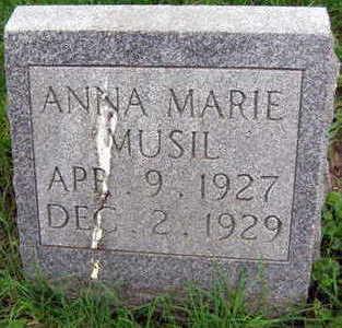 MUSIL, ANNA MARIE - Linn County, Iowa | ANNA MARIE MUSIL