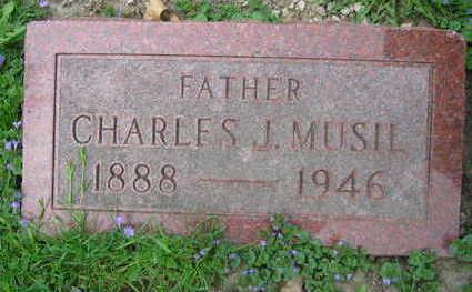 MUSIL, CHARLES J. - Linn County, Iowa | CHARLES J. MUSIL