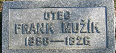 MUZIK, FRANK - Linn County, Iowa | FRANK MUZIK