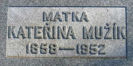 MUZIK, KATERINA - Linn County, Iowa | KATERINA MUZIK
