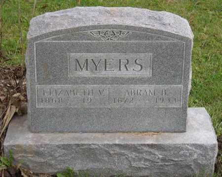 MYERS, ABRAM B. - Linn County, Iowa | ABRAM B. MYERS