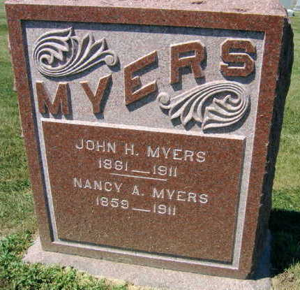 MYERS, NANCY A. - Linn County, Iowa | NANCY A. MYERS