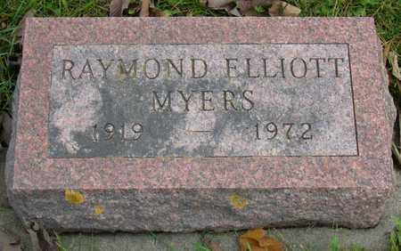 MYERS, RAYMOND ELLIOTT - Linn County, Iowa | RAYMOND ELLIOTT MYERS