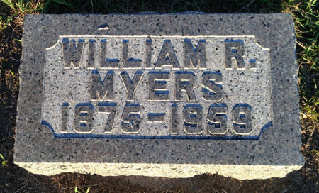 MYERS, WILLIAM R. - Linn County, Iowa   WILLIAM R. MYERS