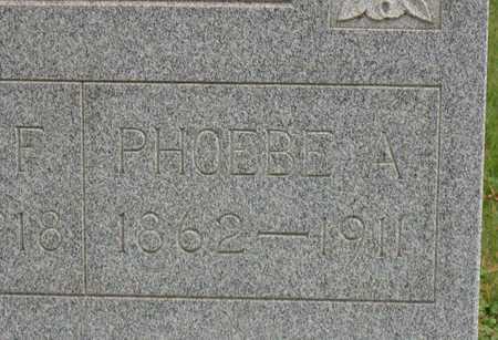 NAPIER, PHOEBE A. - Linn County, Iowa | PHOEBE A. NAPIER