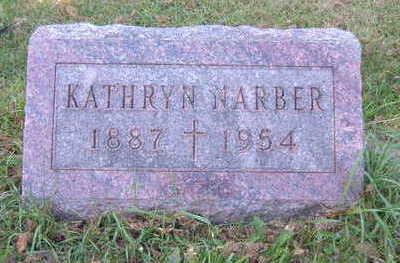 YUNKER NARBER, KATHRYN - Linn County, Iowa   KATHRYN YUNKER NARBER
