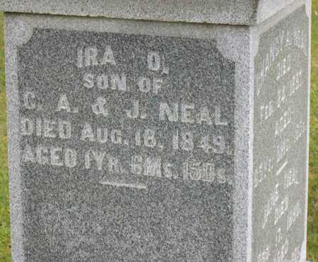 NEAL, IRA O. - Linn County, Iowa | IRA O. NEAL