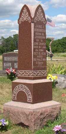 NEIDERHISER, FAMILY - Linn County, Iowa | FAMILY NEIDERHISER
