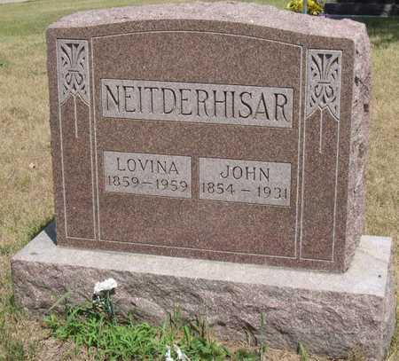 NEITDERHISAR, LOVINA - Linn County, Iowa | LOVINA NEITDERHISAR